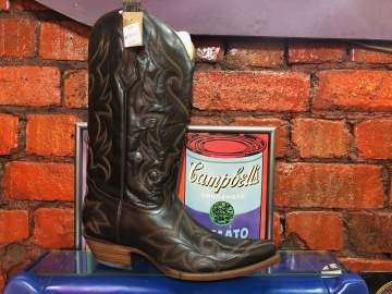 Fashion Cowboy Boot -1961 Saltillo Coffee Stud - Coffee - Size 07-15