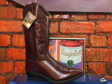 Cowboy Boots - Maroon Mens - Maroon - Size 07-13