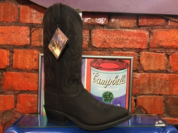 Cowboy Boots - 3051 Oil Skin Choc - Chocolate Brown - Size 07-13