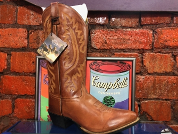 Cowboy Boots -2070 Mens Tan Boot - Tan - Size 07-13
