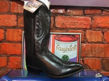 Cowboy Boots - 5210 Black Boots - Black - Size 07-13