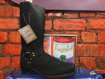 Cowboy Boot - 2058 Square Black Toe EE - Black - Size 07-13