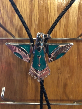 Bolo Ties - Traditional Native Turquoise Eagle