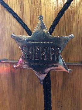 Bolo Ties - Sheriff Bolo Tie