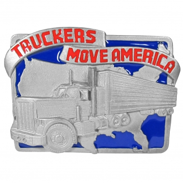 Buckles - Truckers Move America Buckle