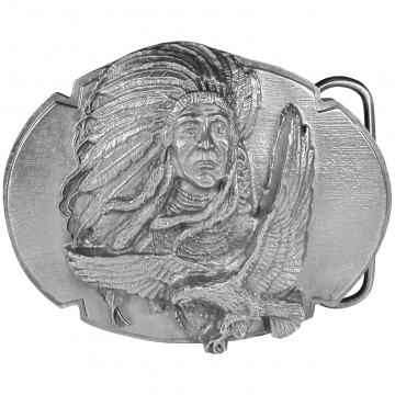 Buckles - Indian Chief & Eagle Buckle
