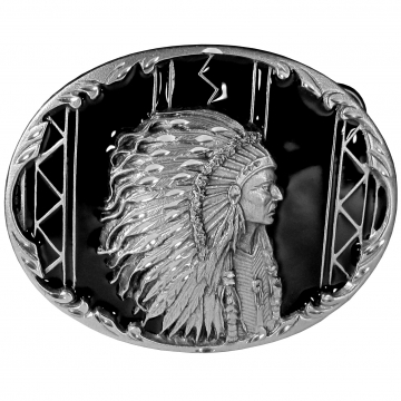 Buckles - Indian Chief Buckle