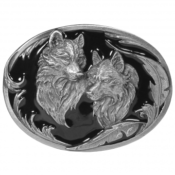 Buckles - Plain Two Wolves Buckle