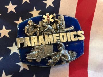 Buckles - Enamel Paramedics Buckle
