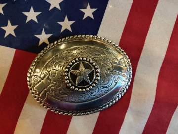 Buckles - Western Ribbon Star Buckle