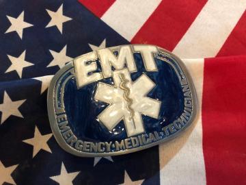 Buckles - EMT Symbol Enamel Buckle