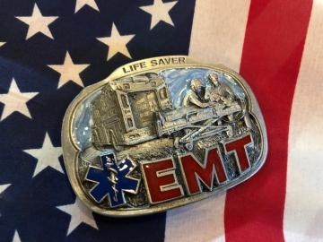 Buckles - EMT Life Saver Enamel Buckle