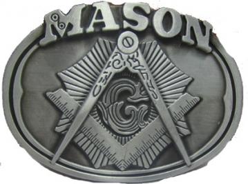 Buckles - Mason Oval Belt Buckle