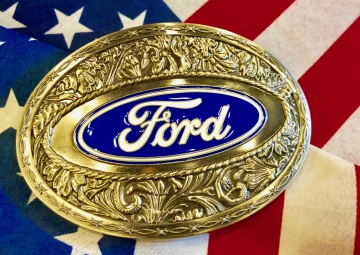 Buckles - Ford Logo Buckle