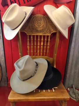 Stetson - Assorted Stetson Cowboy Hats - Cream/Black/Brown - 54-63
