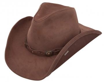 Stetson - Roxbury Stetson Mocha Cowboy Hat - Mocha - S-2XL