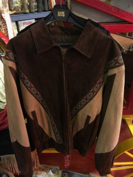 Western Jacket - Classic Chuck Norris Jacket - Size M-5XL