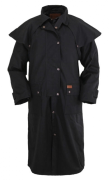 Dusters - Black Duster Coat - Black - Size M - 3XL