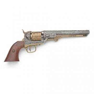 Guns - Civil War M1851 Engraved Gold & Nickel Navy