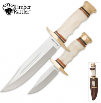 Knives - Timber Rattler Cattle Drive Knife Combo