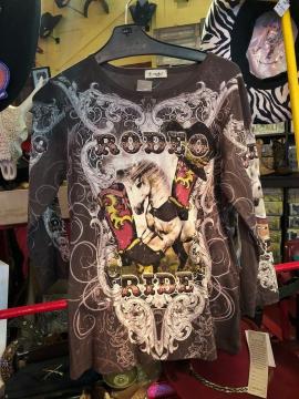Fashion Designer Shirts - Cactus Rodeo Ride New Bronco Shirt - Multicoloured - Sizes S-2XL