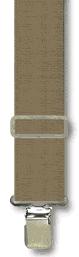 Suspenders - Classic Khaki - Khaki - M-XXL