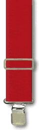 Suspenders - Classic Red - M-XXL