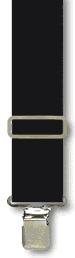 Suspenders - Classic  Black - M-XXL