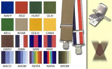 Suspenders - Navy Ombre - M-XXL