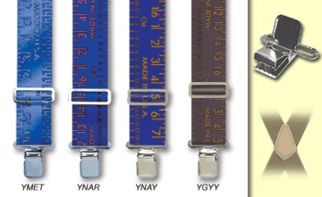 Suspenders - USA Big Yardstick - M-XXL