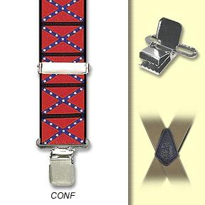 Suspenders - Confederate -M-XXL