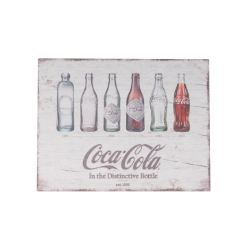 Decorative - Coca Cola Wooden Sign