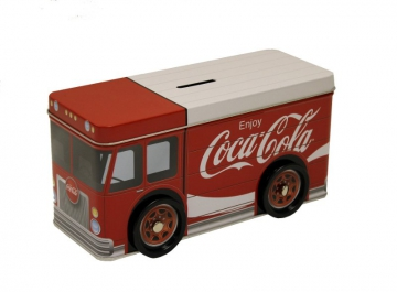 Tins- Coke Truck Tin