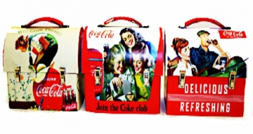 Tins - Coke Vintage Carry Tin