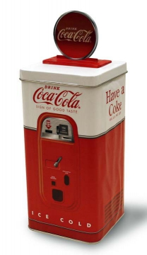 Tins - Coke Machine Tin