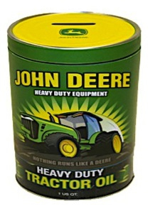 Tins - John Deere Coin Bank