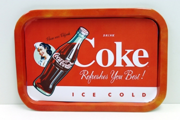 Kitchenware- Coke rectangular Tray
