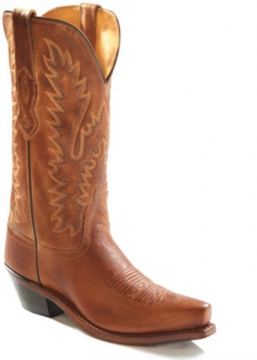 Cowboy Boot - 1529 Tan Ladies Boot - Tan - 6-10