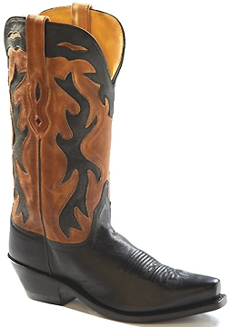 Cowboy Boot - LF1531 Ladies Tan Boot - Tan - 6-10