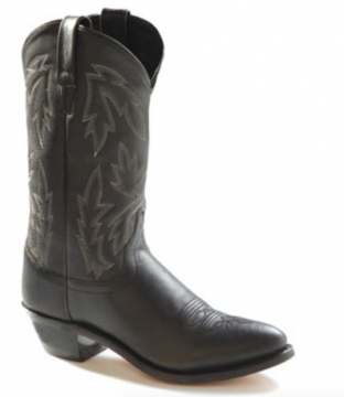 Cowboy Boot - 2010 Black Ladies Boot - Black - 6-10