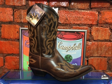 Cowboy Boot - 18053 Brown Ladies Boot - Brown - 6-10