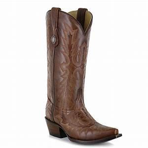 Fashion Cowboy Boots - 1923 Picasso Cognac Stitch - Cognac - 6-10