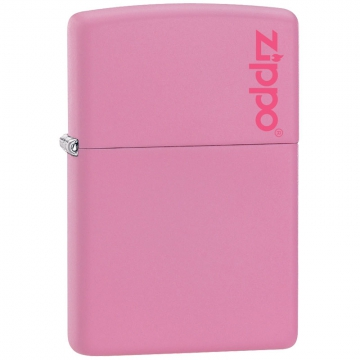 Zippo Lighter - Regular Pink Matte Lighter