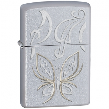 Zippo Lighter - Golden Butterfly Lighter
