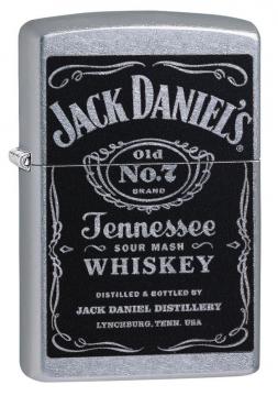 Zippos- 24779 Jack Daniels Label Zippo