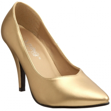 Ladies Fashion Heels - 420 Dream Gold High Heel - Gold - Size 6-16