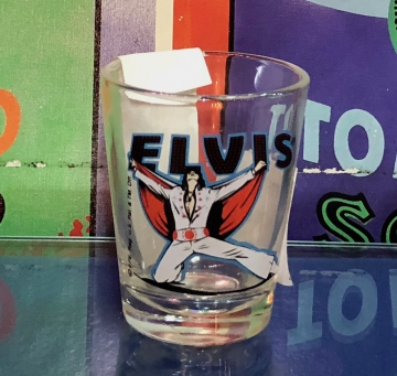 Glassware - Elvis White Suit Shot glass