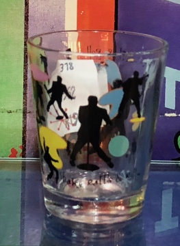 Glassware - Black Silhouette - Shake, rattle n roll
