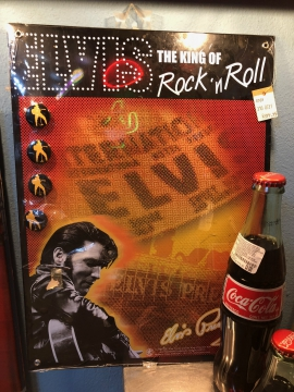 Novelties - Elvis Magnet Board