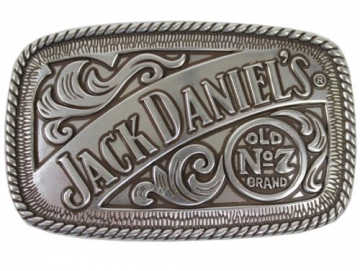 Buckles - Antique Silver Jack Designer Buckle